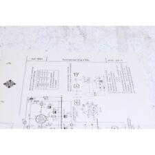 Original Telefunken Ela V104 Tonmesser Schematics