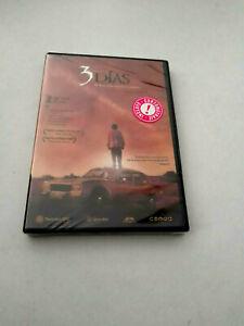 """DVD """"3 DIAS"""" DVD PRECINTADO SEALED F. JAVIER GUTIERREZ VICTOR CLAVIJO EDUARDO FE"""