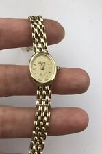 Vintage 14 K Solid Gold Geneva Ladies Dress   Watch