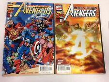 The Avengers #1 1998 #1 sunburst variant 2 3 4 5 6 Captain America