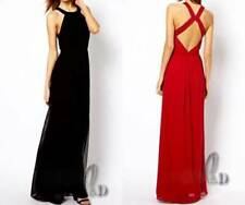 Backless Formal Solid Dresses for Women