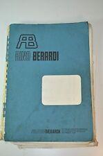 Rino Berardi Machine Machinist Operation Users Manual *( In Italian )*