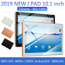 10.1 pollici 8GB+128GB Tablet PC Android 9.0 10 Core WIFI 4G-LTE 2SIM
