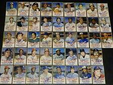 1977 Hostess Twinkies Autograph Baseball Near Complete Set Signed Lot HOF Auto