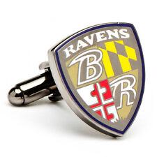 Baltimore Ravens NFL Football Cufflinks Cuff Links NIB