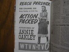1955 TV Guide(ANNIE  OAKLEY/GAIL  DAVIS/BARBARA NICHOLS/MEL BLANC/DUNCAN RINALDO