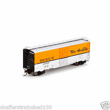 Athearn # 76903 40' YSD BOX, RIO GRANDE/ORANGE & SILVER # 67626 HO MIB