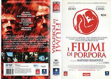 I fiumi di porpora (2000) VHS