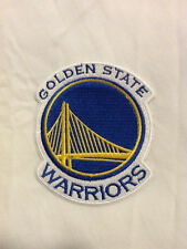 Golden State Warriors Logo NBA Basketball Hat Embroidered Iron On Jersey Patch