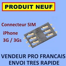 ✖ CONNECTEUR LECTEUR INTERNE CARTE SIM IPHONE 3G 3GS ✖ NEUF EXPEDITION 24H MAXI