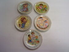 Avon Mother's Day Plates set of 5 1981, 82, 83, 84, 91