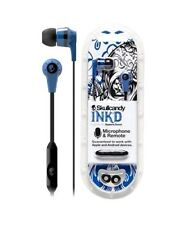 Skullcandy S2IKDY-101 BLUE/BLACK In-Ear Headphone With Mic Original / Brand New