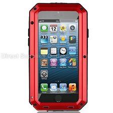 Waterproof Shockproof Aluminum Gorilla Metal Cover Case For Apple iPhone 5/5s/SE