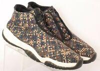 Nike 652141-301 Air Jordan Future Camo Woven Basketball Sneakers Men's US 14