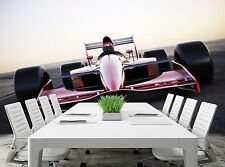 Race Car on a Track  Wall Mural Photo Wallpaper GIANT DECOR Paper Poster