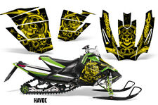 Arctic Cat Sno Pro Race Sled Wrap Snowmobile Decal Graphic Kit 2008-2011 HAVOC Y