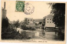 CPA  Blendecques (P.-de-C.) - Moulin sur l'Aa     (220337)