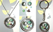7pcs WICKED Personalised Custom Living Memory Floating Locket Charms The Musical