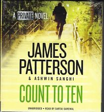 COUNT TO TEN by James Patterson & Ashwin Sanghi NEW 6 CDs 2017