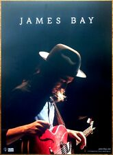 JAMES BAY Chaos And The Calm Ltd Ed RARE HUGE Poster +FREE Indie Rock Alt Poster