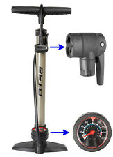 Beto 024.007 Standpumpe bis 11 bar mit Manometer Stahlpumpe