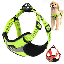Truelove Harness for Dogs Green Reflective Adjustable No Pull Vest for Dogs S-L