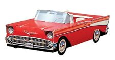 Chevy Bel Air Cardboard Cars 11 cars 1955 '56,'57 Kids Food Box Snack Tray Party