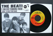 """7"""" The Beatles - I Want To Hold Your Hand - USA Capitol w/ Pic"""