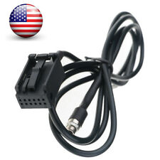 3.5MM Female AUX Audio Adapter Cable For BMW Z4 E83 E85 E86 X3 X5 MINI COOPER
