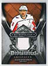2018-19 ARTIFACTS METROPOLITAN DIVISIONAL ALEX OVECHKIN JERSEY 1 COLOR