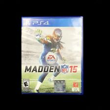 Madden NFL 15 Football Game W/ Out Manual (Sony PlayStation 4, 2014)