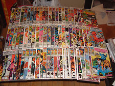 HUGE LOT OF MARVEL MICRONAUTS COMICS! Almost complete full run original & New