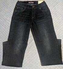 Tommy Hilfiger Athletic Straight Stretch Jeans Dark Wash Size-Youth Boys 28x31