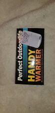 Portable Aluminum Handwarmer Pocket Handy Hand Warmer Platinum Small Heater