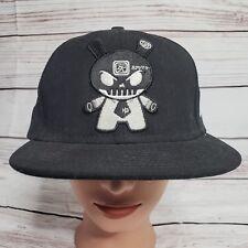 Huck Gee SKULLHEAD Dunny KidRobot New Era 59FIFTY 5950 Fited Hat 7 1/2 RARE