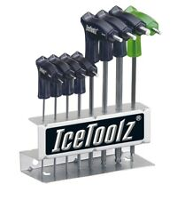 serie brugole a t chiave a stella t-25, otto pezzi in espositore ICETOOLZ bici a