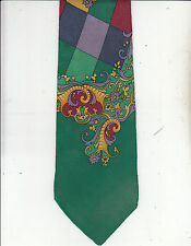 Versace-V2-Authentic-[If New $400]-100% Silk Tie -Made In Italy-Va22- Men's Tie