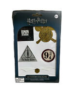 Harry Potter Pack of 5 Leather-Look Accessory Gadget Stickers Decals New
