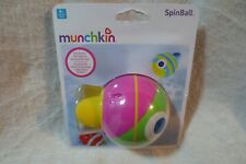Munchkin Spinball Electric Fish Swims Bath Toy 9+ Months New