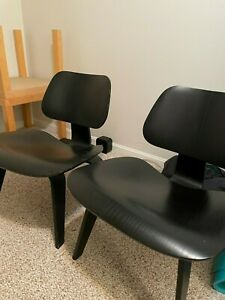 Eames molded plywood chair by Herman Miller