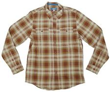 Adidas PRO PLAID Mens Shirt Dark Rust EU50 Medium NEW
