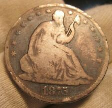 1875-cc Seated Half Dollar