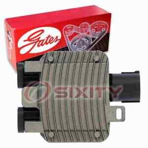 Gates Engine Cooling Fan Module for 2008-2012 Land Rover LR2 3.2L L6 Belts iu