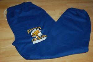 2XL JORDAN HIGH SCHOOL SWEAT PANTS men blue cougars L.A football-basketball GYM