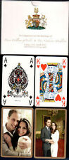 10790. England Royal Wedding William & Kate Playing Cards