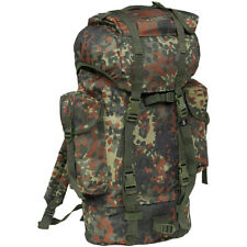 Brandit Army Combat Backpack Tactical Hunting Military Pack 65l German Flecktarn