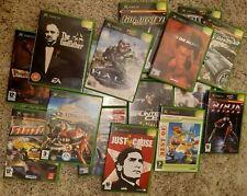 Original Xbox Games Inc. Halo, Simpsons Hit & Run, Splinter Cell, Need for Speed