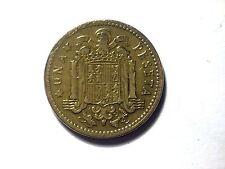 1 peseta Franco 1ere effigie Espagne 1953
