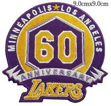 60th Anniversary LOS ANGELES LAKERS NBA basketball sports Logo patch ,iron,sew