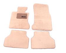 BMW E60 525i 530i 535i 545i 550i Genuine BMW Floor Mat Set- Beige - 4 Piece Set